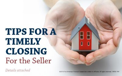 Tips For A Timely Closing